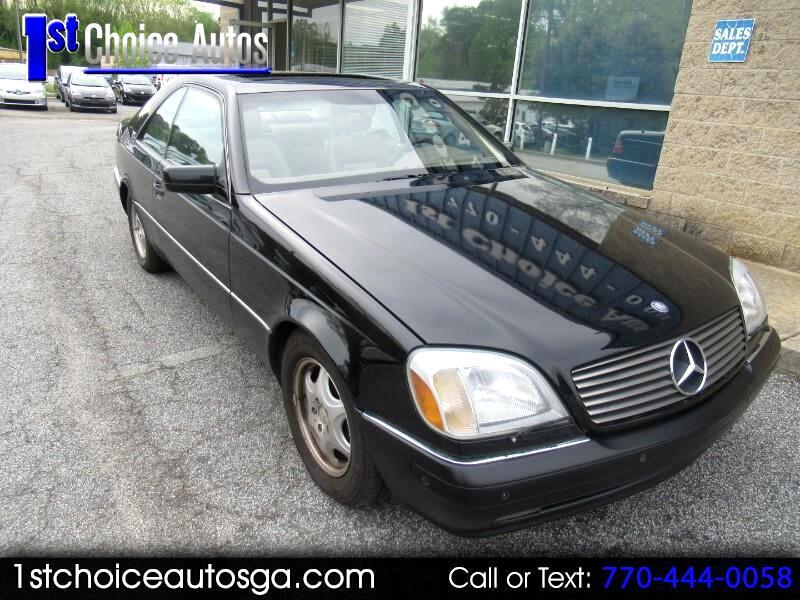 1997 Mercedes-Benz S-Class 2dr Cpe 6.0L