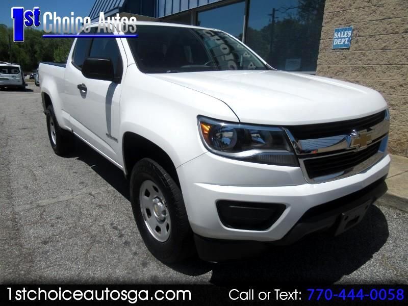 """2015 Chevrolet Colorado 2WD Ext Cab 128.3"""" WT"""