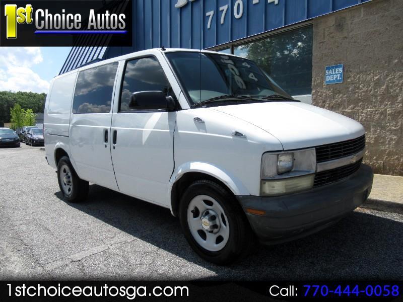 """2004 Chevrolet Astro Cargo Van 111.2"""" WB RWD"""