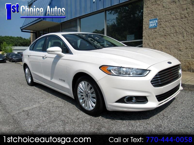 2016 Ford Fusion 4dr Sdn SE Hybrid FWD