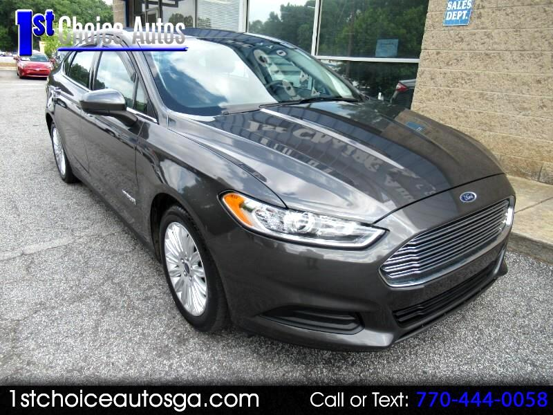 2015 Ford Fusion 4dr Sdn S Hybrid FWD