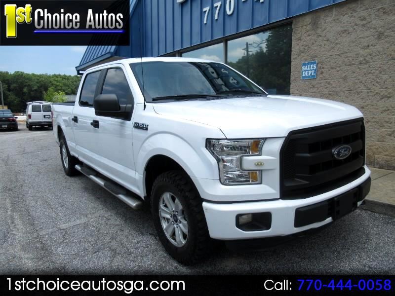"2016 Ford F-150 4WD SuperCab 145"" XLT"