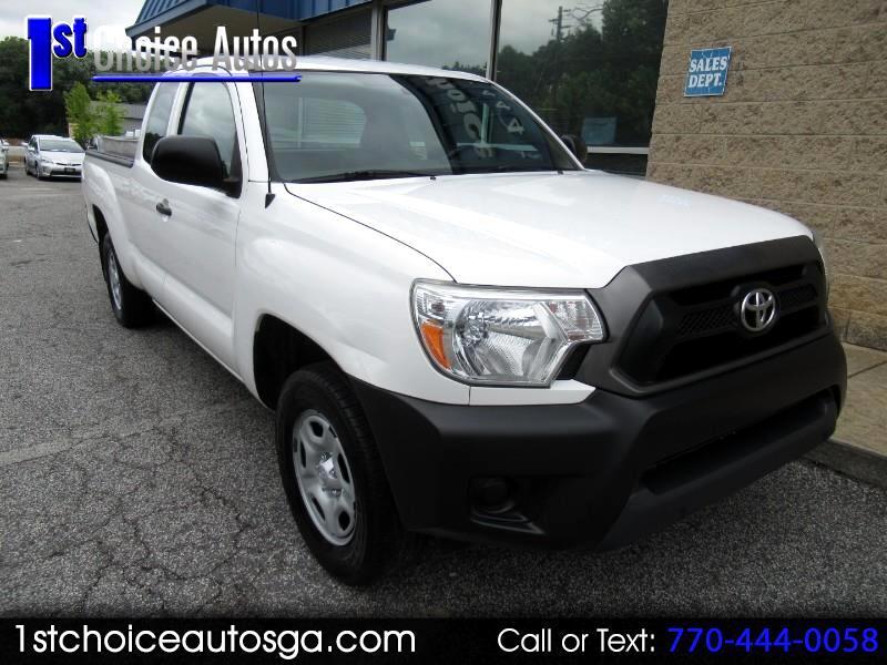 2015 Toyota Tacoma 2WD Access Cab I4 AT (Natl)