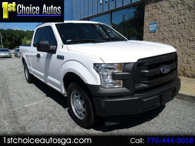 "2017 Ford F-150 2WD SuperCab 145"" XL"