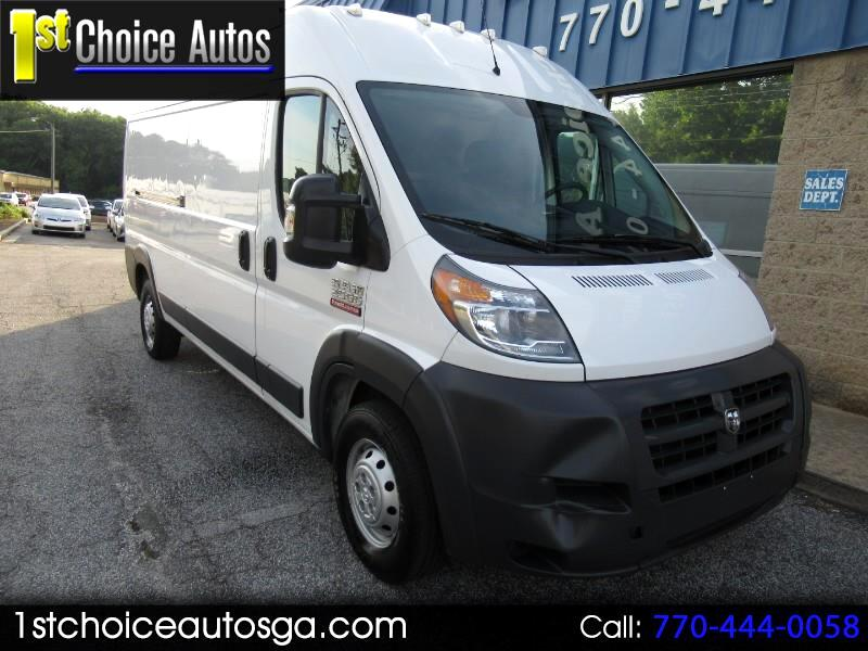 2016 RAM ProMaster Cargo Van 2500 High Roof 159
