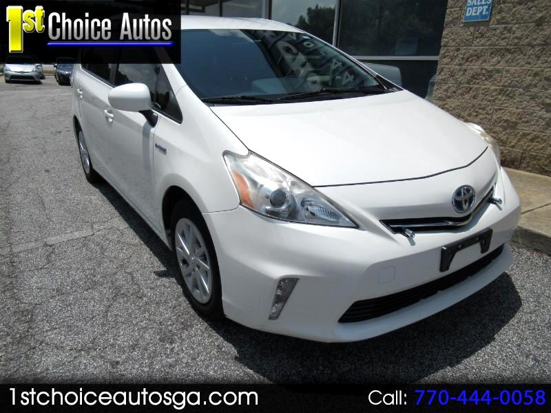 2012 Toyota Prius V 5dr Wgn Three (Natl)