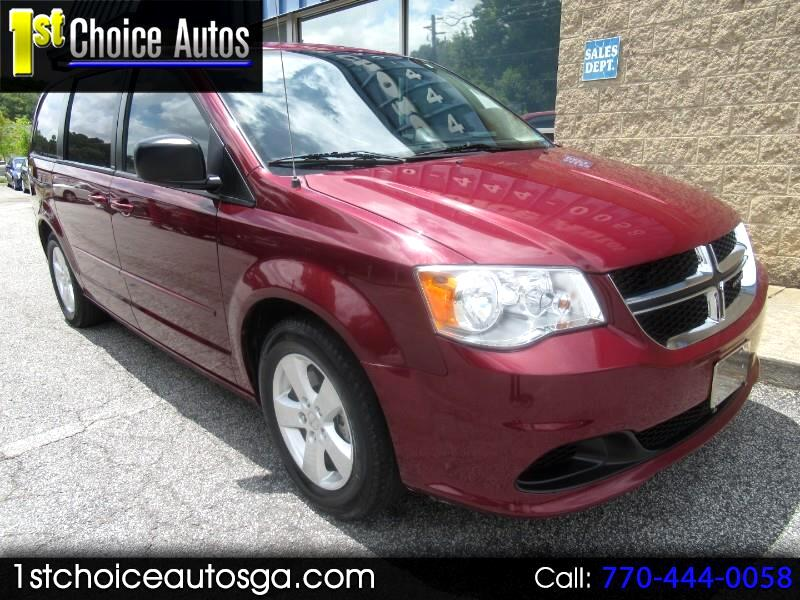 2013 Dodge Grand Caravan 4dr Wgn SE