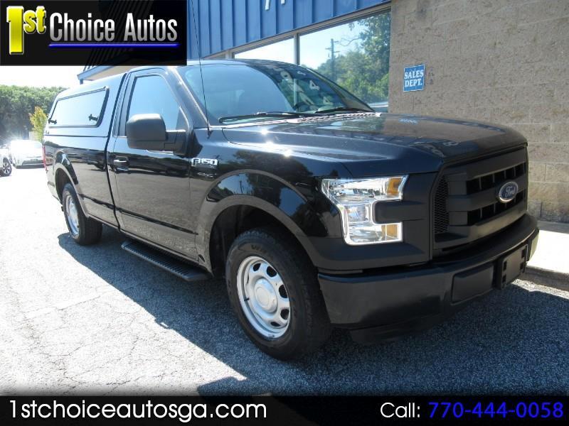 """2015 Ford F-150 2WD Reg Cab 141"""" XLT"""