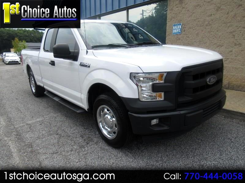 2015 Ford F-150 2WD SuperCab 145