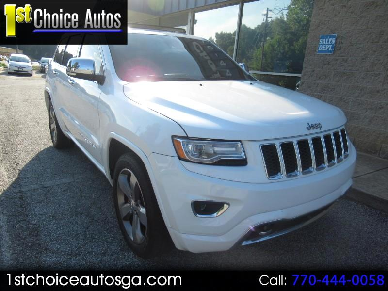 2014 Jeep Grand Cherokee RWD 4dr Overland