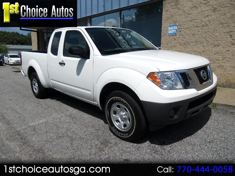2017 Nissan Frontier King Cab 4x2 S Auto