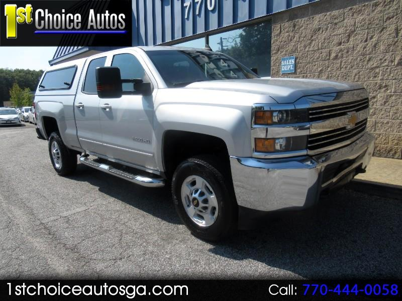 "2015 Chevrolet Silverado 2500HD Built After Aug 14 2WD Double Cab 144.2"" LT"