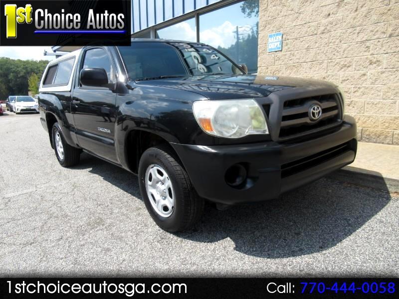 2010 Toyota Tacoma 2WD Reg I4 MT (Natl)