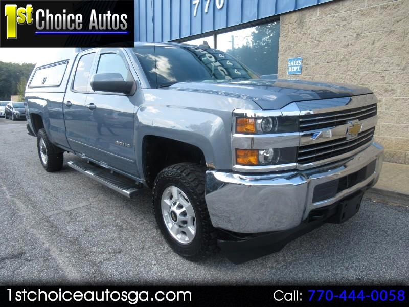 "2015 Chevrolet Silverado 2500HD Built After Aug 14 2WD Double Cab 158.1"" LT"