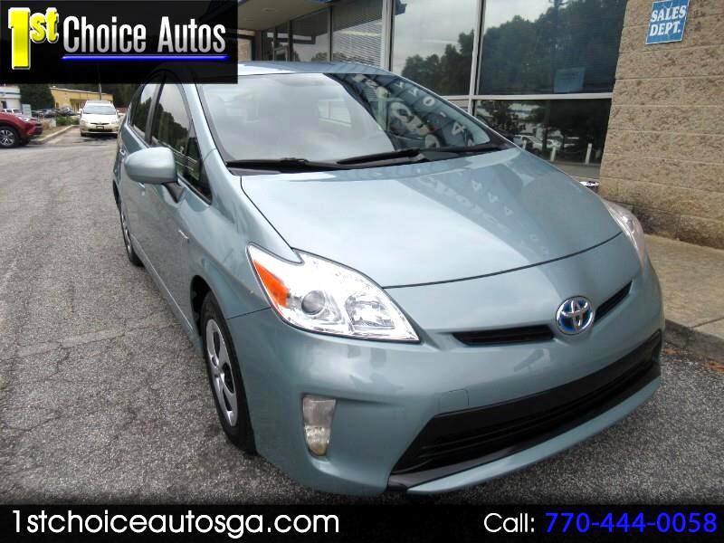 2012 Toyota Prius 5dr HB Three (Natl)