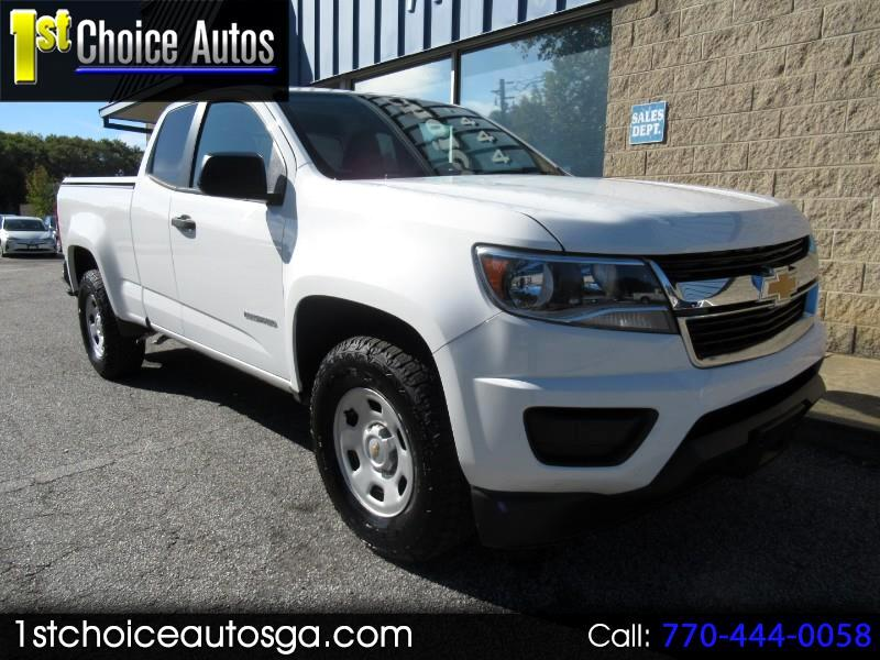 "2016 Chevrolet Colorado 2WD Ext Cab 128.3"" WT"