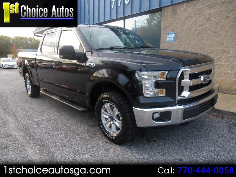 "2015 Ford F-150 4WD SuperCrew 157"" XLT w/HD Payload Pkg"