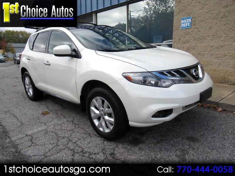 Nissan Murano 2WD 4dr SV 2011