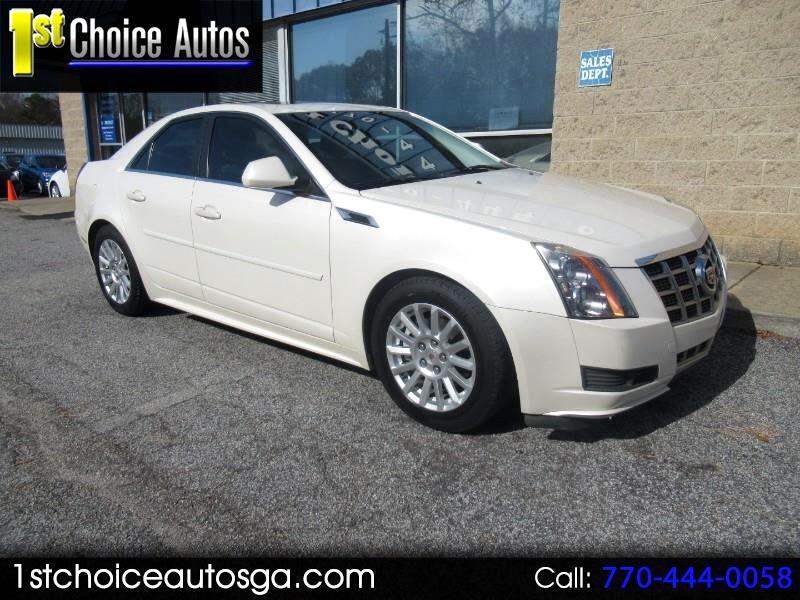 2013 Cadillac CTS Sedan 4dr Sdn 3.0L Luxury RWD