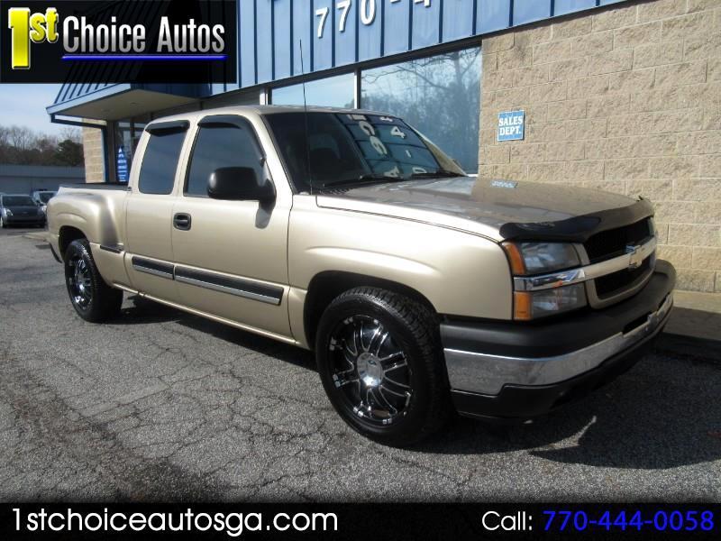 "Chevrolet Silverado 1500 Ext Cab 143.5"" WB LS 2005"