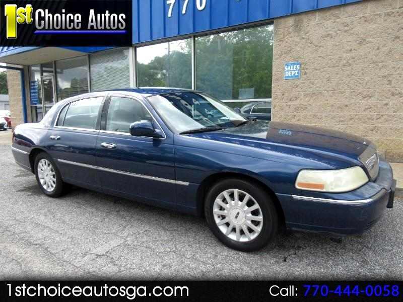 Lincoln Town Car 4dr Sdn Signature 2007
