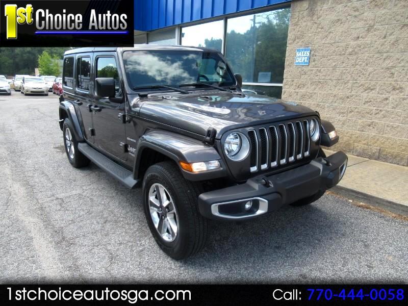 Jeep Wrangler Unlimited Sahara 4x4 2019
