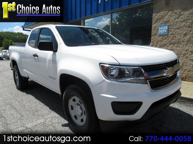 """Chevrolet Colorado 2WD Ext Cab 128.3"""" WT 2015"""