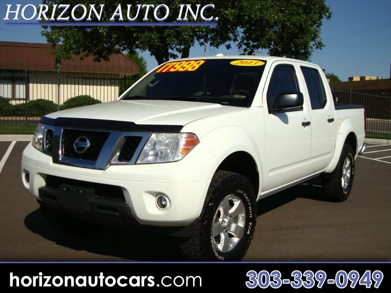 2013 Nissan Frontier SV Crew Cab 5AT 4WD