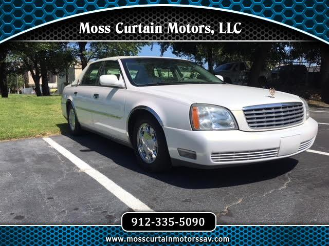 Used 2005 Cadillac DeVille For Sale In Savannah GA 31406 Moss Curtain Motors LLC