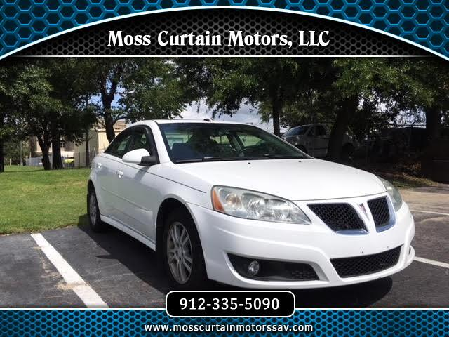 Used 2010 Pontiac G6 For Sale In Savannah GA 31406 Moss Curtain Motors LLC