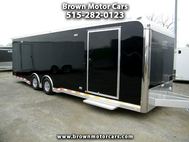 2018 ATC Quest 8.5x28 Aluminum Enclosed w/305 Car Hauler Package