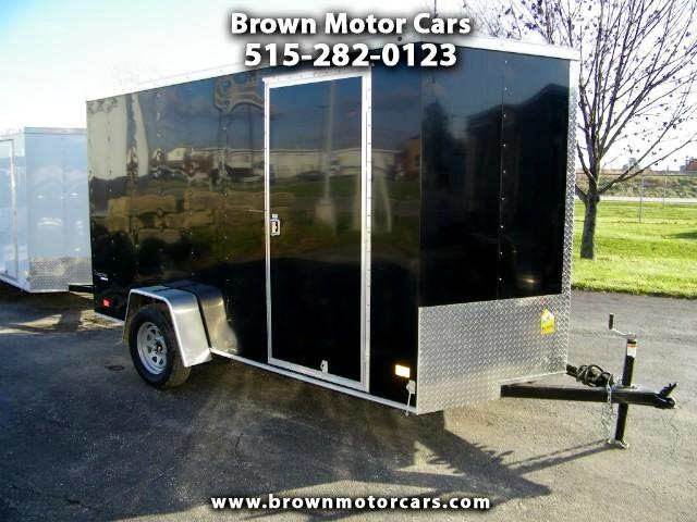 2018 Wells Cargo Trailer Cargo Track 6x12 V-Nose Enclosed Trailer
