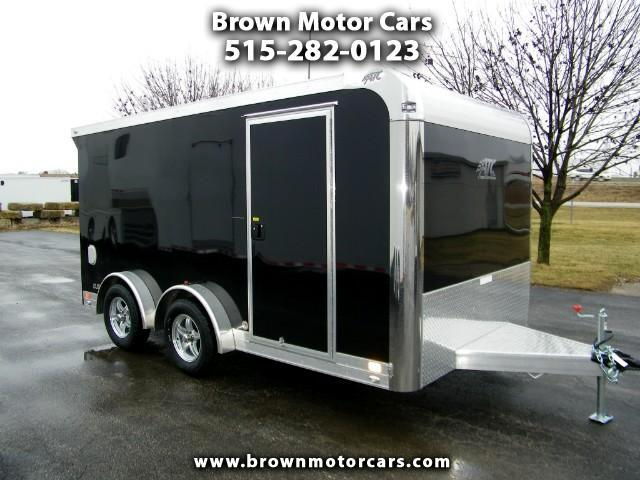 2018 ATC Quest 7.5x14 Aluminum MC300 Enclosed Motorcycle Trailer