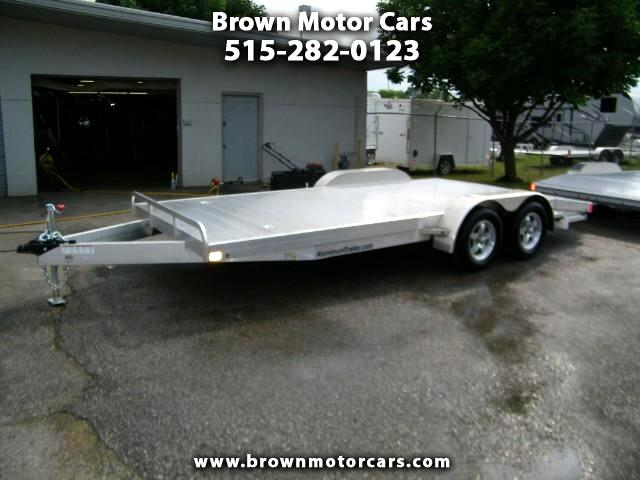 2019 ATC Car 18ft Aluminum Open Car Hauler
