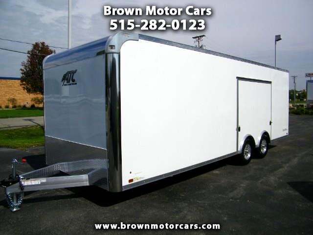 2019 ATC Raven 8.5x24 All Alumminum Enclosed Car Hauler