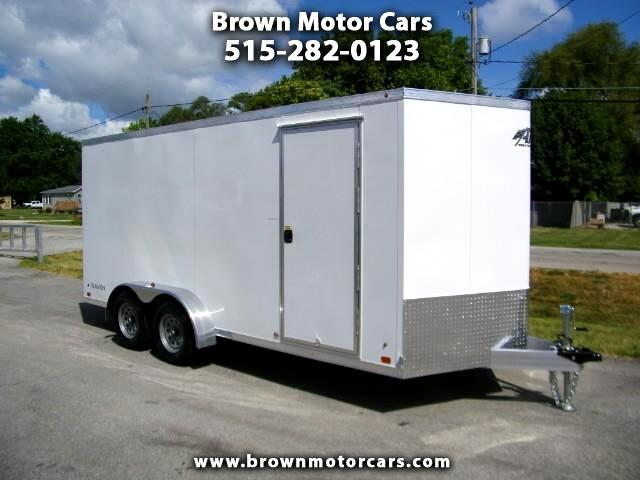 "2019 ATC Raven 7x16 V-Nose Enclosed Trailer 6'6"" Interior Height"