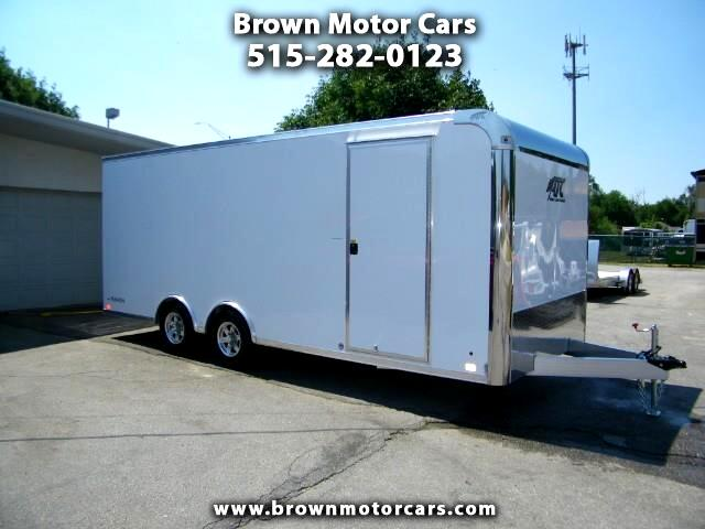 2019 ATC Raven 8.5x20 All Aluminum Car Hauler Enclosed Trailer
