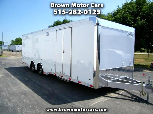 2019 Haulmark Enclosed Trailer HAR 8.5x28 All Aluminum Enclosed Race Trailer Car