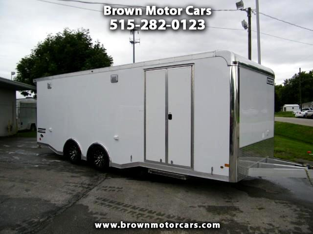 2019 Haulmark Enclosed Trailer HAR 8.5x24 All Aluminum Race Trailer Enclosed w/7f