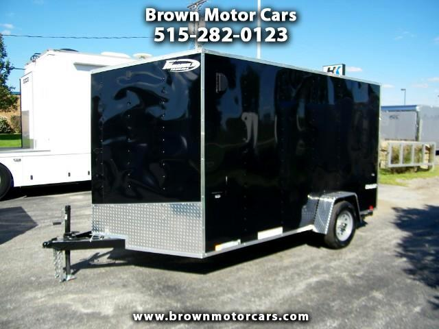 "2019 Formula 31 PC Conquest 7x12 Enclosed Trailer 6'6""Interior Height"