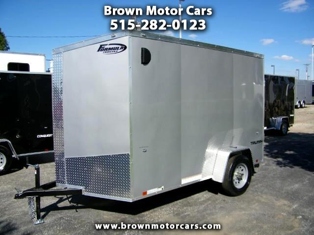 "2019 Formula 31 PC Triumph 6x10 V-Nose Enclosed Trailer w/ 6'6""Interi"
