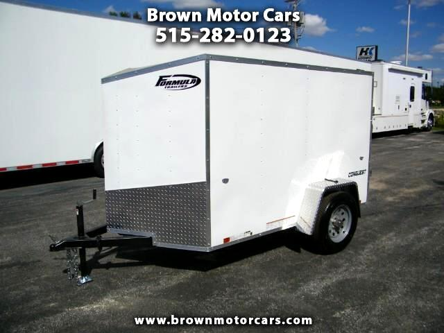 2019 Formula 31 PC Conquest 5x8 Enclosed Cargo Trailer