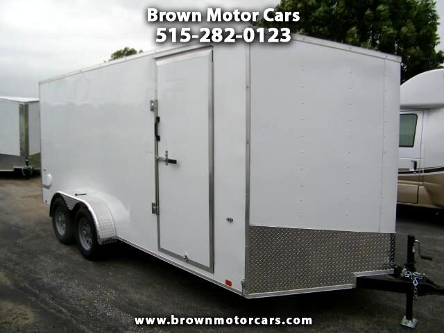 "2019 Formula 31 PC Conquest 7x16 V-Nose Enclosed Trailer 6'6"" Interio"