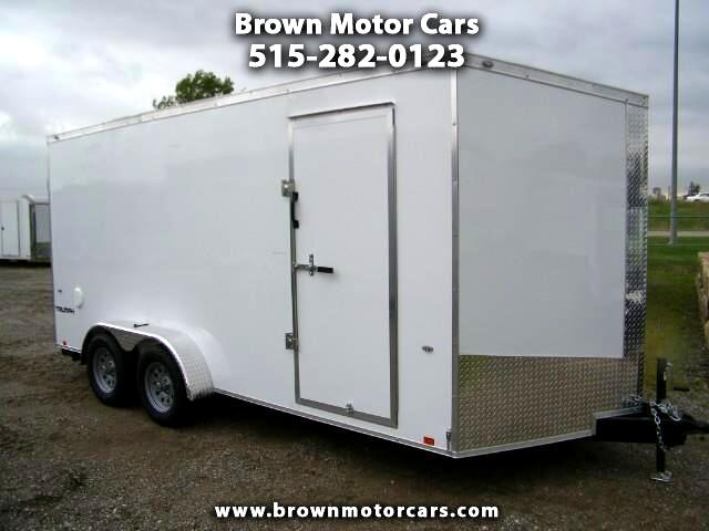 2019 Formula 31 PC Triumph 7x16 V-Nose Enclosed Trailer 7ft Interior