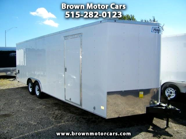 2019 Haulmark Passport 8.5x24 V-Nose Enclosed Trailer 5,200lb Axles