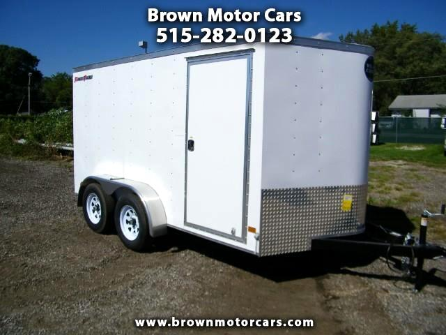2019 Wells Cargo Fast Trac 7x12 V-Nose Enclosed Cargo Trailer