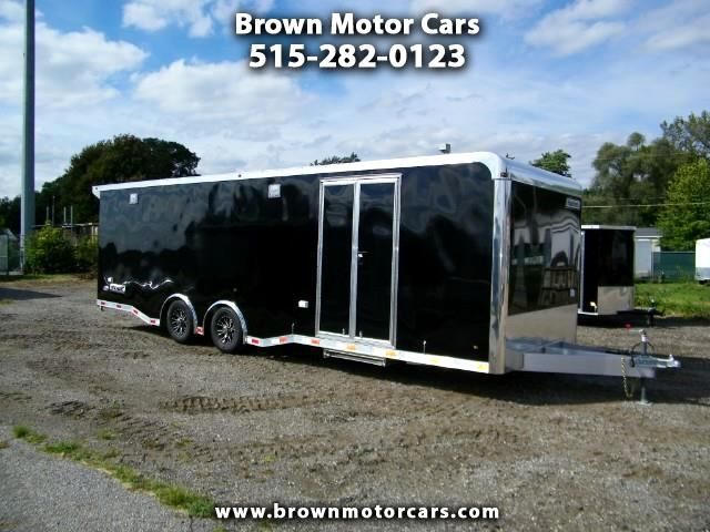 2019 Haulmark Enclosed Trailer HAR 8.5x28 All Aluminum Enclosed Car Hauler w/6k T
