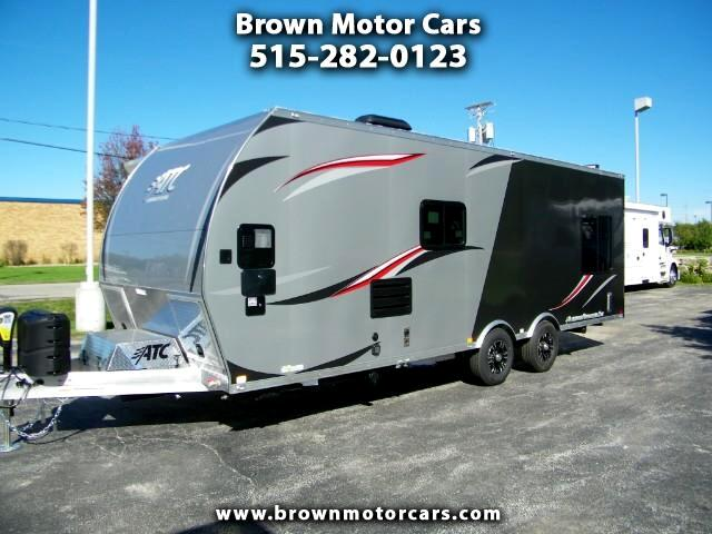 2019 ATC Custom 24ft All Aluminum Toy Hauler w/ Generator