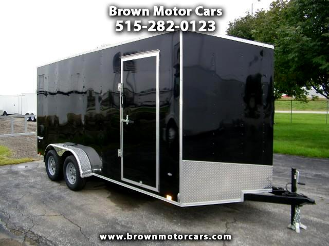 2019 Formula 31 PC Conquest 7x16 V-Nose Trailer w/7ft Interior Height