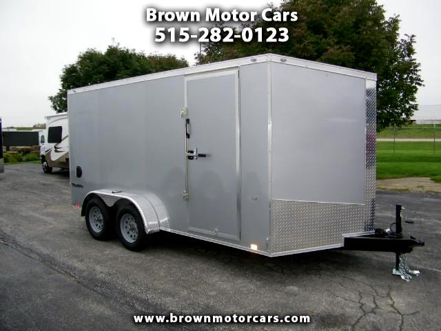 "2019 Formula 31 PC Triumph 7x14 V-Nose Enclosed Trailer w/6'6""Interio"